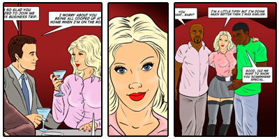 Interracial Comics  Free preview
